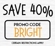 Save with promo code BRIGHT